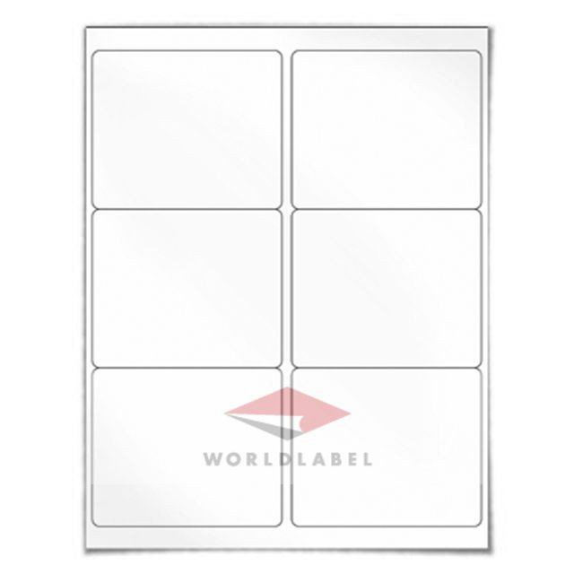 Blank Shipping Label Template 600 Labels 4 X 3 33 Blank Shipping Labels Uses Avery Printable Label Templates Avery Label Templates Label Templates