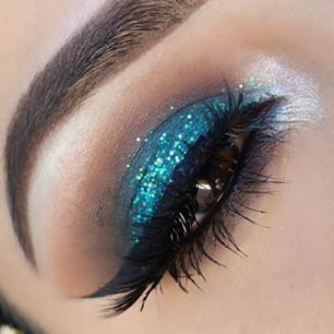 25+ best ideas about Teal eyeshadow on Pinterest | Teal eye makeup ...