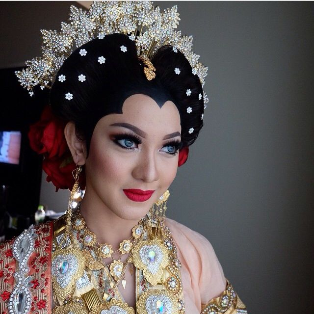 Beautiful makeup wedding #bajubodo