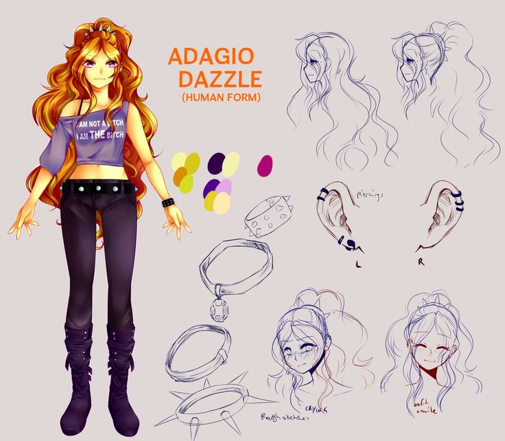 Adagio Dazzle - studying by SlLVERTRASH