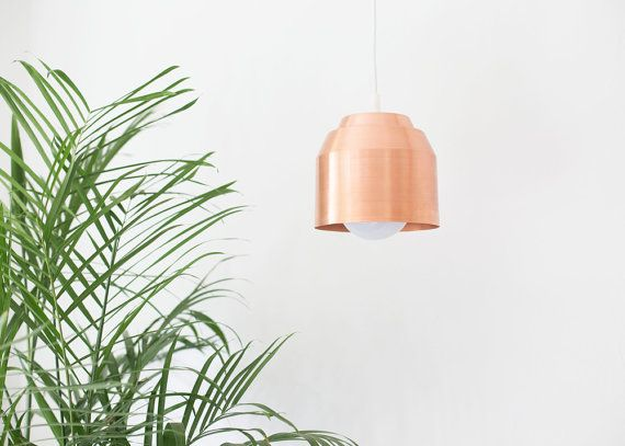 Pail Pendant Light by YieldDesignCo on Etsy