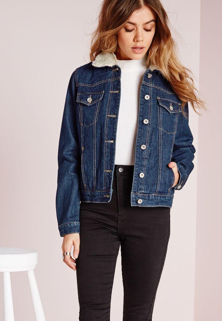 Best 25  Lined denim jacket ideas on Pinterest   Skin line, Levi ...