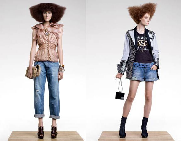 Elle Brazil EditorialLove the styling & the combinations with denim Editorial titled Beleza Roubada