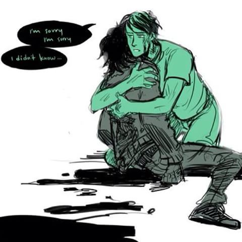 Image result for nico di angelo hurt