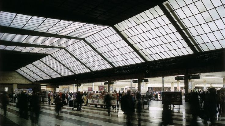 Santa Maria Novella Station, Firenze - G. Michelucci