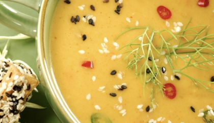 Ricette per dimagrire: vellutata di carote tiepida al curry | Cambio cuoco