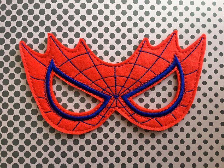 Spiderman Felt Mask - visit to grab an unforgettable cool 3D Super Hero T-Shirt!