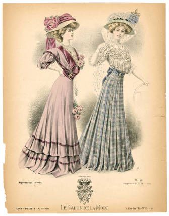 1902-1909, Plate 056 :: Costume Institute Fashion Plates:  1907