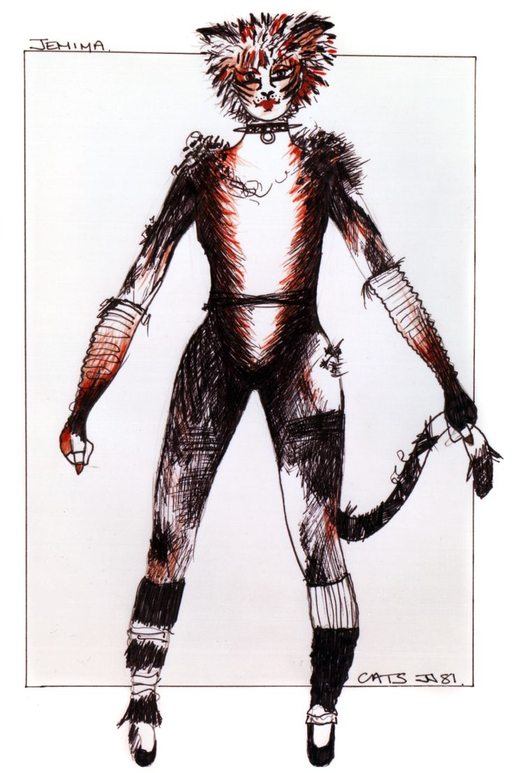how to make a cats costume from cats the musical