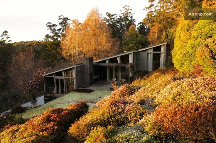 Kunanyi House in Fern Tree, Hobart