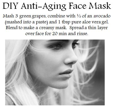 DIY Anti-Aging Face Mask #antiaging #health #fit #diet