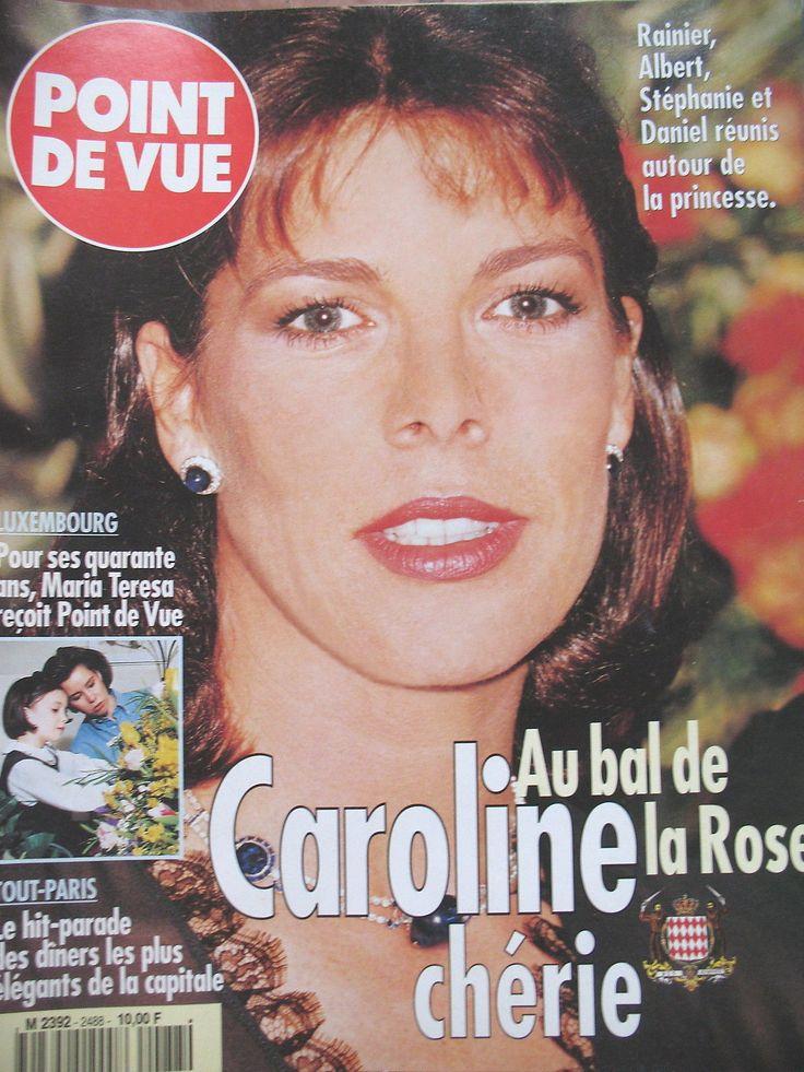 POINT DE VUE N° 2488 CAROLINE DE MONACO BAL DE LA ROSE PALAIS FORBES TANGER 1996 | eBay