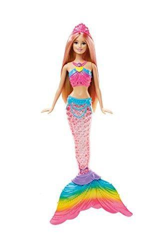 Oferta: 20.79€ Dto: -19%. Comprar Ofertas de Barbie - Muñeca, sirena luces de arcoíris (Mattel DHC40) barato. ¡Mira las ofertas!