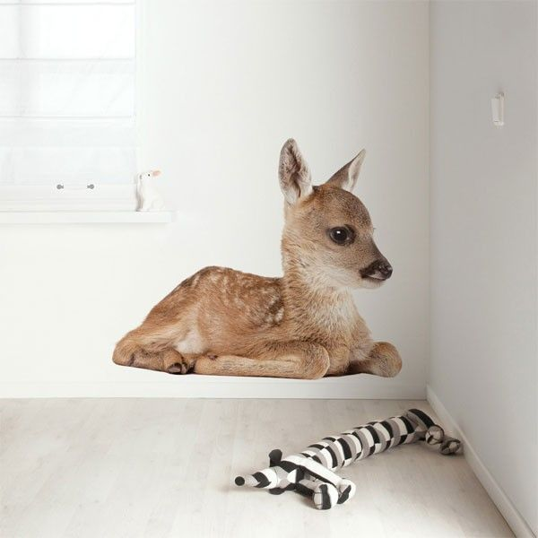 KEK Amsterdam Forest Friend Deer XL #muursticker.