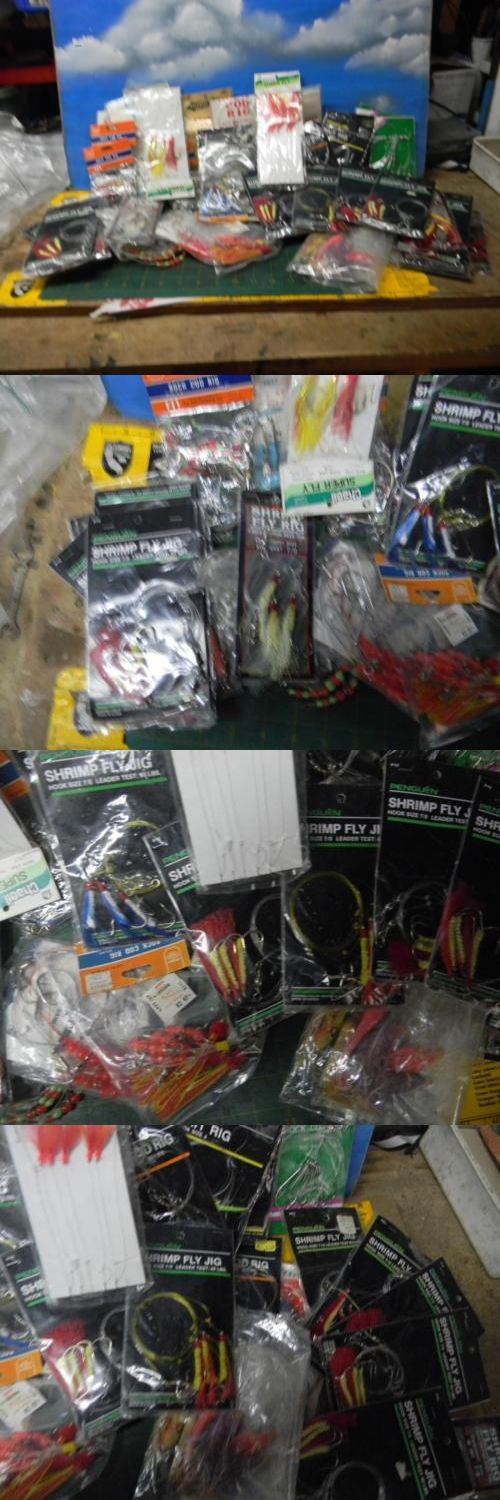 Saltwater Lures 36153: Lot Of 60+ Rock Cod Ganglions,Shrimp Fly Rigs And Tackle-New/Other? BUY IT NOW ONLY: $30.0