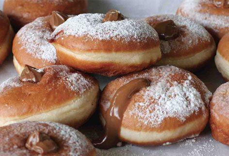 Pastry Blogger, crema al cioccolato easy per Sufganiot | Gossipfish
