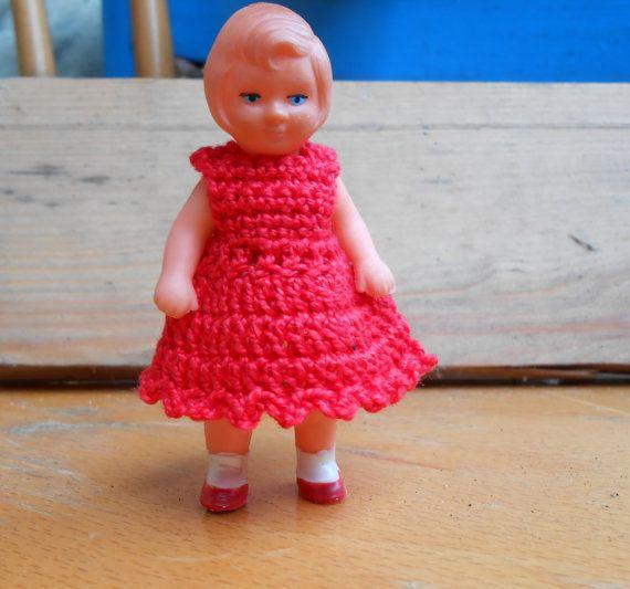 Abito per bambola 9 cm abiti bambola uncinetto di lepropostedimari