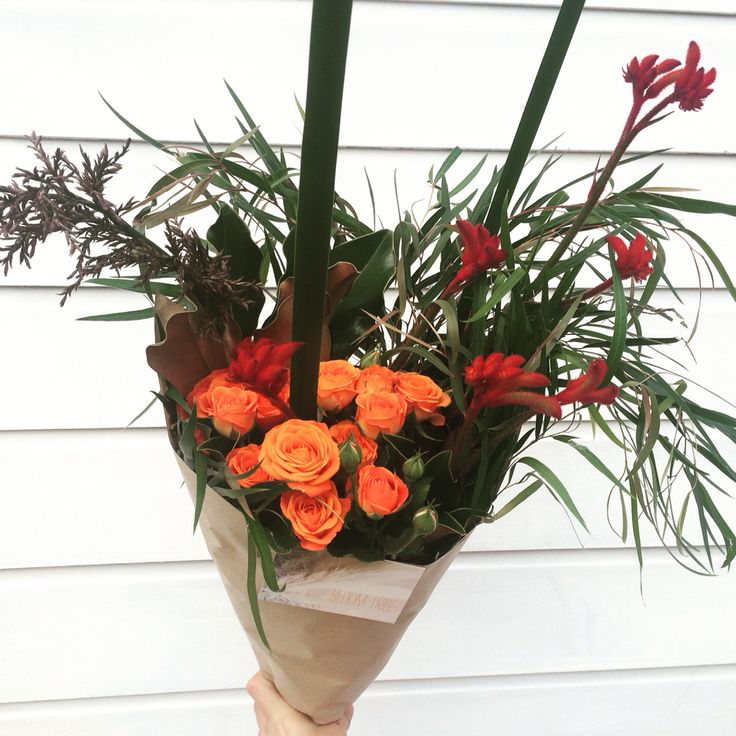 Bunch of cluster roses and natives by Bloom Tribe