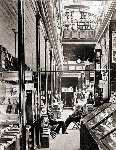 Cole's Book Arcade, Melbourne ( ca. 1900)