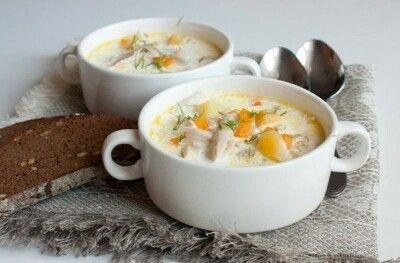 Густой куриный суп со сливками Ингредиенты: ●1 целая курица (около 1500-1700 г) ●2 средних моркови ●2 средних луковицы... 7 кулинарных рецептов - Мой Мир@Mail.ru