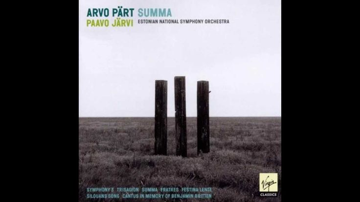 Arvo Pärt - Fratres for String Orchestra and Percussion