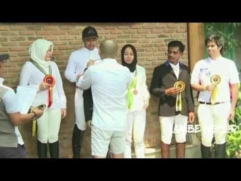 Di Sela Sela Kesibukan, Irfan Hakim Ikut Lomba Berkuda Bersama Ketiga An...
