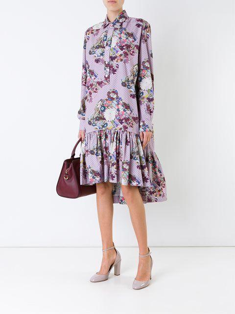 Antonio Marras платье с цветочным принтом