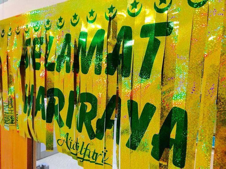 Eid/Hari Rata Aidilfitri decorations