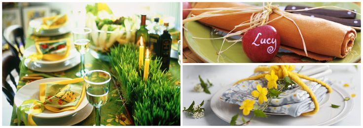 5 idee per decorare la tavola di Pasqua con i colori - Fai da te | Donna Moderna