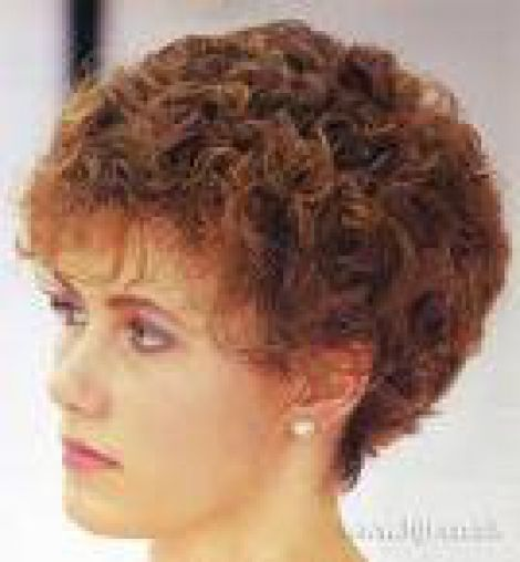 short hair perms | Classic Perm Short - springs hair design: Short ...