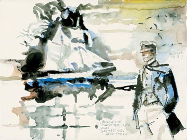 CORTO MALTESE TORNERA' NEL 2015 CON UNA NUOVA AVVENTURA ----------------------- L'editore Casterman ha diffuso la notizia che il nostro marinaio riprenderà il mare a vent'anni dalla scomparsa dal suo creatore Hugo Pratt. L'arduo compito di raccontare il nuovo capitolo della storia è stato affidato allo scenenggiatore Juan Diaz Canales e all'esperto disegnatore Ruben Pallejro. Il nuovo episodio svelerà...  #cortomaltese #pratt #hugopratt #fumetti #mare