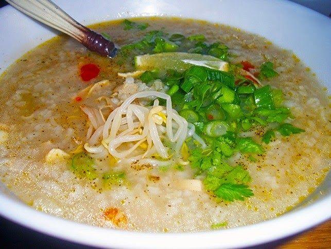 Sorieya's Homemade Cooking: My Cambodian Rice Porridge (Bor-bo)