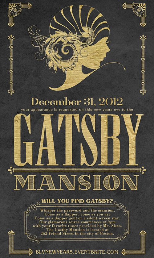 great gatsby wedding invitations awesome printable new year s eve