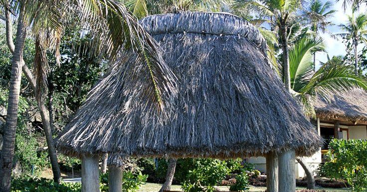 Maneras de construir una palapa. Las palapas añaden un toque tropical al paisaje y proveen un lugar sombreado que se mezcla con el verde del jardín. Las palapas son sólo chozas de paja o de sombrillas atadas que proporcionan refugio. Pueden ser tan complejas o simples como tu quieras. La parte más difícil de construir una palapa es obtener el material. Las hojas de palma son el ...