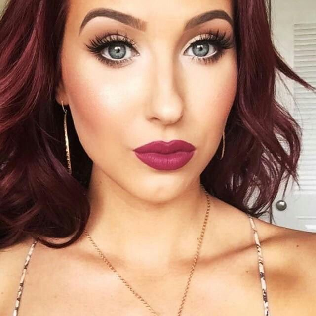 jaclyn hill from youtube this lip color is absolutely gorgeous its anastasia beverly hills. Black Bedroom Furniture Sets. Home Design Ideas