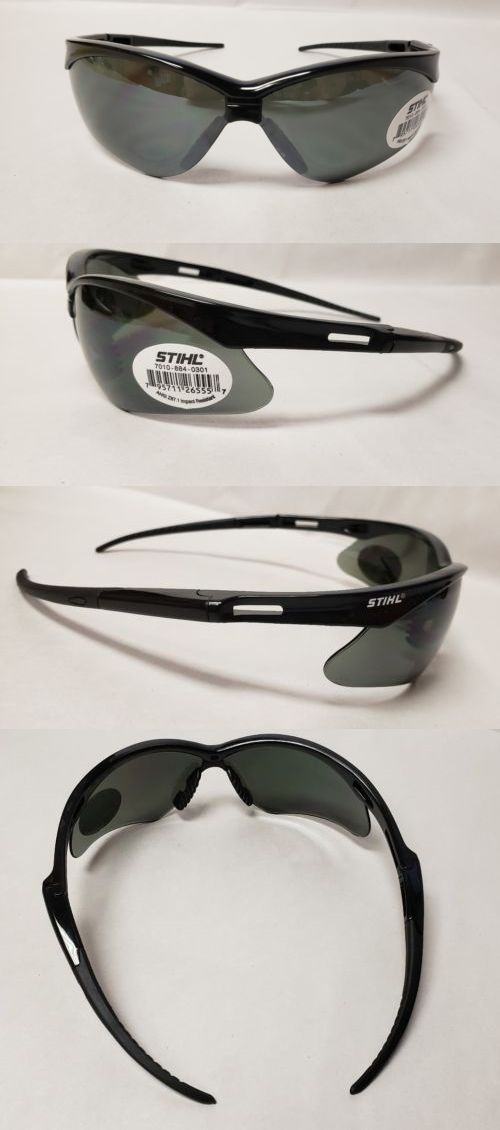 36b350efdbe Glasses Goggles and Shields 43615  Stihl Black Widow Safety Glasses With  Smoke Lens  0301 -  BUY IT NOW ONLY   20.95 on  eBay  glasses  goggles   shields ...