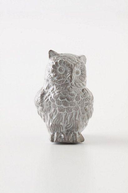 It's an owl knob - love!