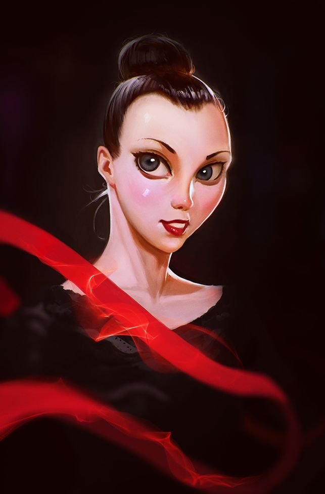 Ganna Rizatdinova (Ukraine) by Roman