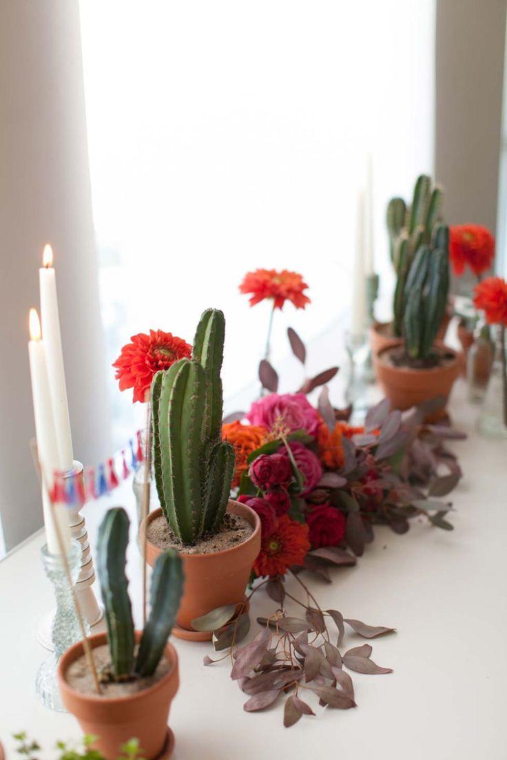 mexican styled wedding inspired by Frida Kahlo // Inspiriert von Frida Kahlo: Malerische Hochzeitsinspiration im mexikanischen Stil