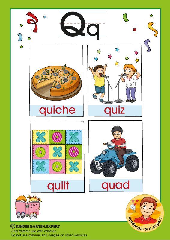 Early Childhood Sight Words Letter Q For Kindergarten Kindergarten Expert Free Prin In 2020 Alphabet Activities Preschool Alphabet Kindergarten Alphabet Activities