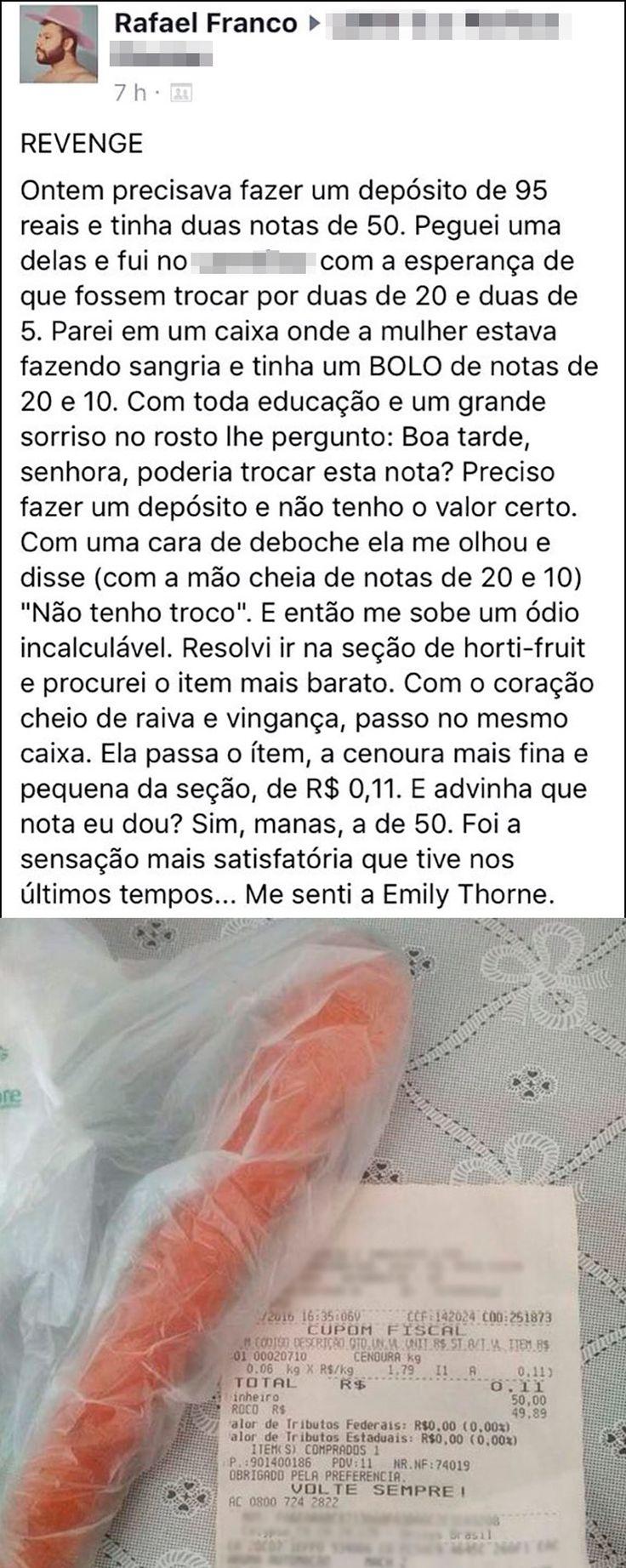 SEDE DE VINGANÇA