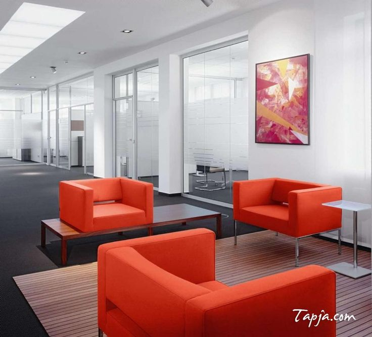 ceiling office. elegant white wall colors for modern office design with orange leather chair and amazing lighting idea in ceiling along gry floor glass door decor s
