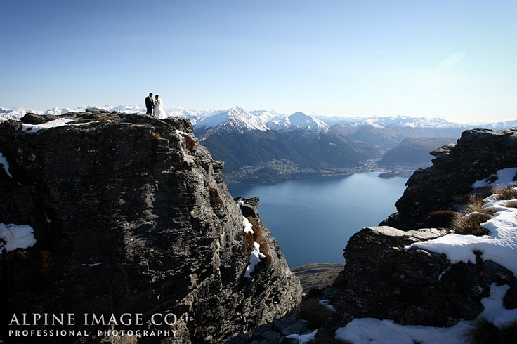 Cecil Peak, Queenstown Wedding - Photography by Alpine Image Co. Ltd