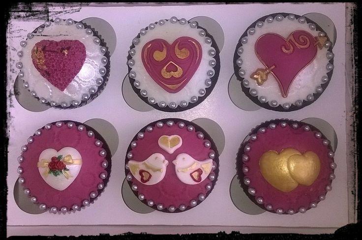 Cupcakes extra dark chocolate per un mesiversario speciale =) <3