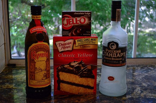 Black Russian Cake with Kahlua Glaze-007.jpg by From Valerie's Kitchen, via Flickr
