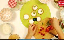 Vidéo: Comment préparer des mini-pizzas aux fruits