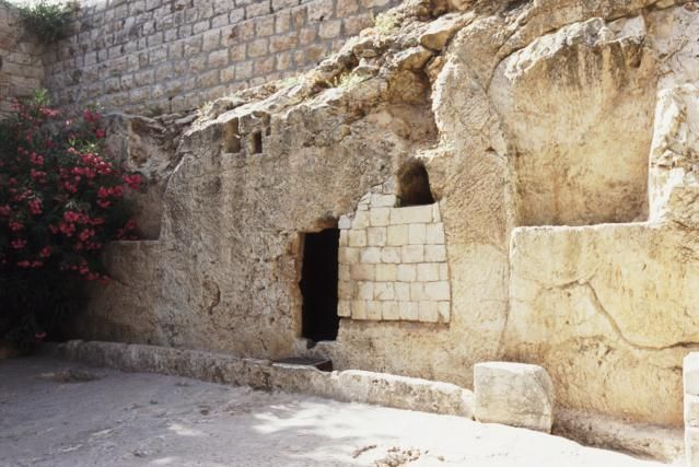 7 Evidences in Support of the Resurrection: The empty Garden Tomb in Jerusalem is believed to be the burial place ofJesus...33AD http://christianity.about.com/od/easter/a/7-Proofs-Of-The-Resurrection.htm