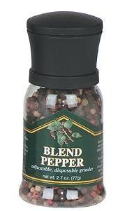 Chef Specialties - 90505 - Disposable Blend Pepper Grinder . $16.00. As Americas oldest pepper mill manufacturer Chef Specialties Company has offered Americas professional and amateur chefs the finest pepper mills since 1940. Today Chef Specialties pepper mills retain the quality that was first designed in the original pepper grinders back in the 40s. They are the most widely sold pepper mills to the Food Service or Restaurant Industry. Our market ranges from beginner cooks to ...
