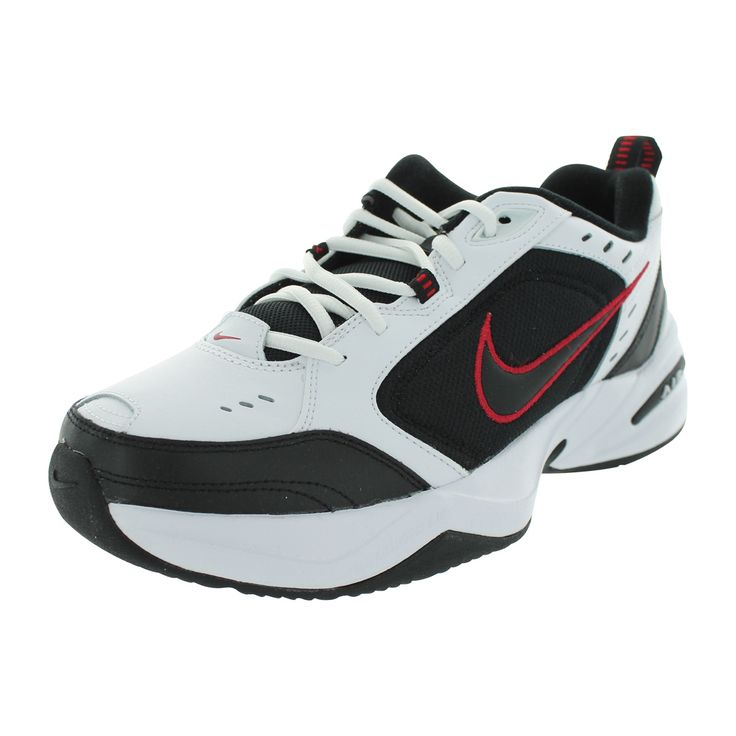 Awesome Nike Air Monarch Iv In White For Men WhiteCool GreyAnthraciteWhite