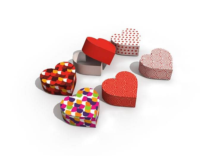 Heart Shaped Boxes - Valentine's Day 2015